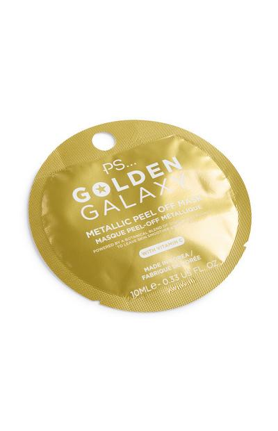 Golden Metallic Peel Off Mask