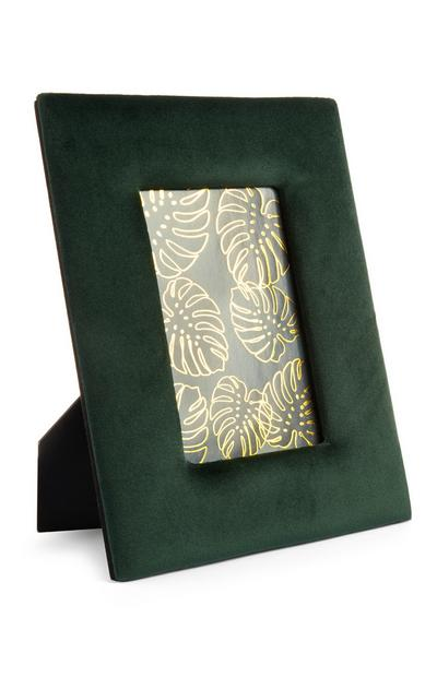 Green Velvet Photo Frame