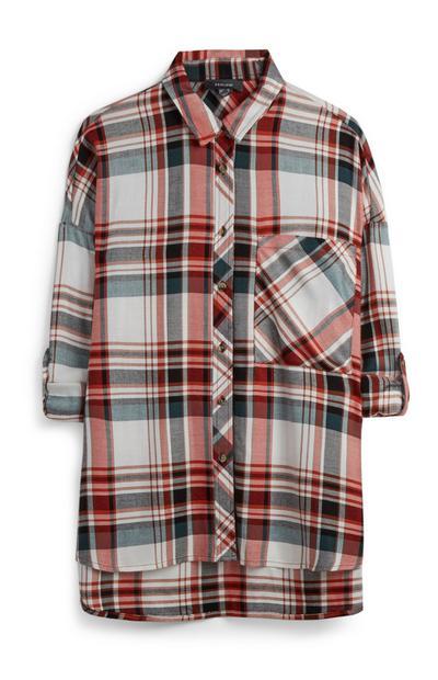 Oversized Check T-Shirt