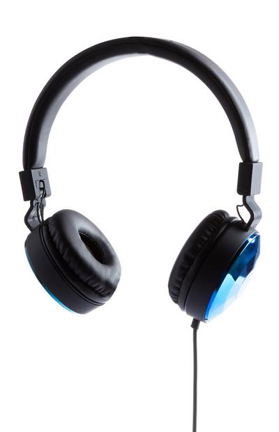 Black Folding Headphones