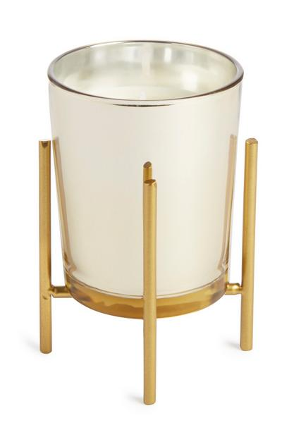 Gold Stand Candle