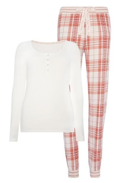 Flannel Print Pyjama Set