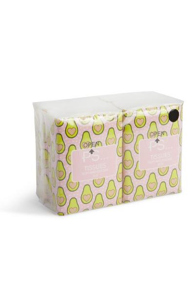 Avocado Print Tisses 4Pk