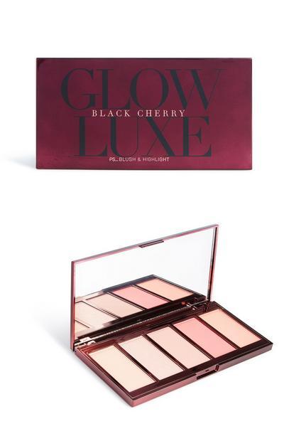 Black Cherry Blush And Highlight Palette