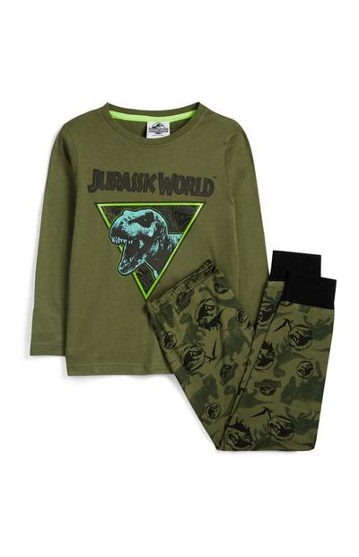 Younger Boy Jurassic Park Pyjama Set