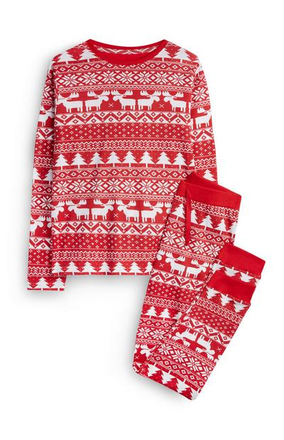 Older Girl Fair Isle Pyjamas