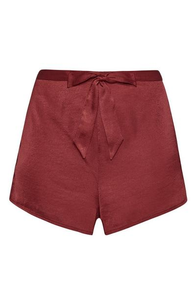 Satin Pyjama Short
