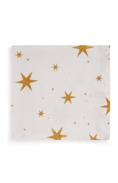 Star Print Napkins