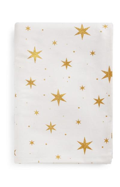 Christmas Star Print Table Cloth