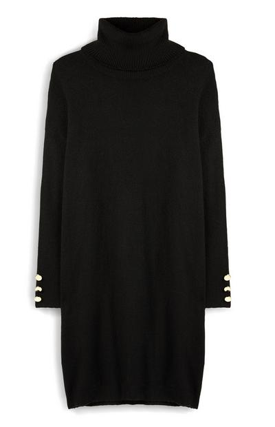 Roll Neck Jumper Dress