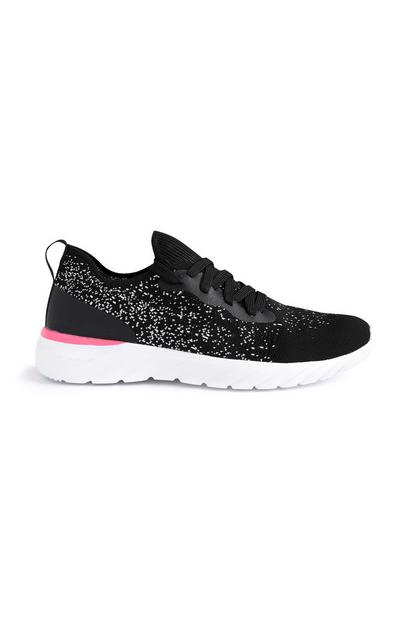 Black Ombre Trainers