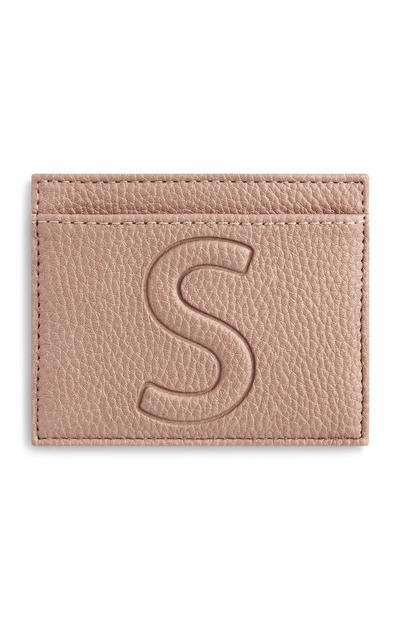 Letter S Cardholder
