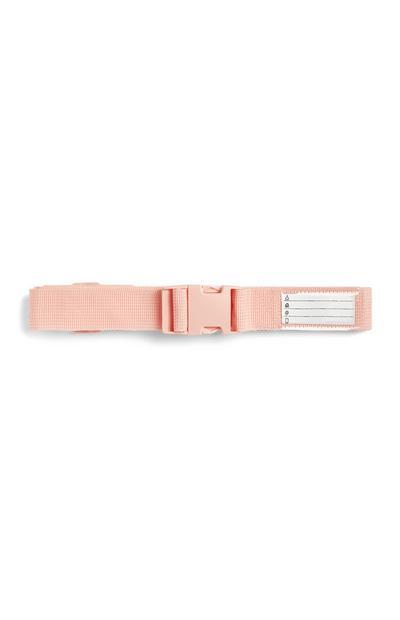 Pink Luggage Strap