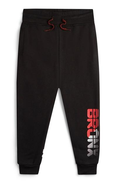 Younger Boy Black Bronx Joggers