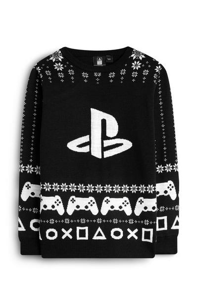 Older Boy Playstation Fair Isle Christmas Jumper