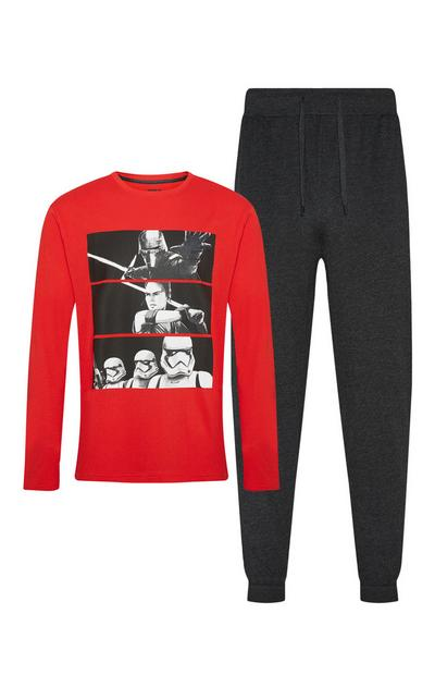 Red And Black Star Wars Pyjama Set