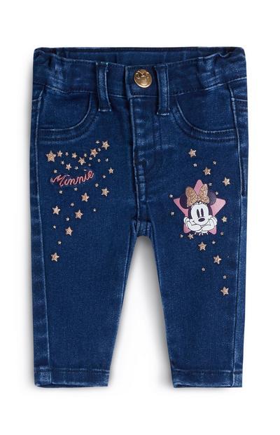 """""""Minnie Maus"""" Jeans für Babys (M)"""