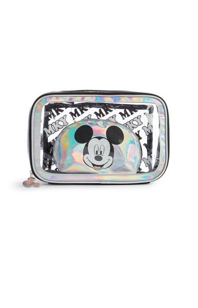 Holographic Mickey Mouse Makeup Bag