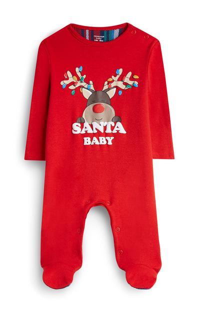 Baby Boy Rudolph Babygrow