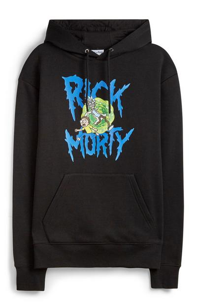 Black Rick And Morty Hoodie