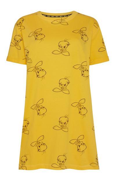 Yellow Tweety Nightshirt
