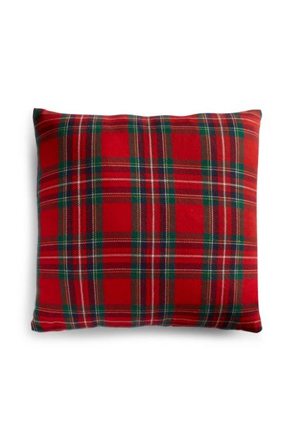 Traditional Check Cushion