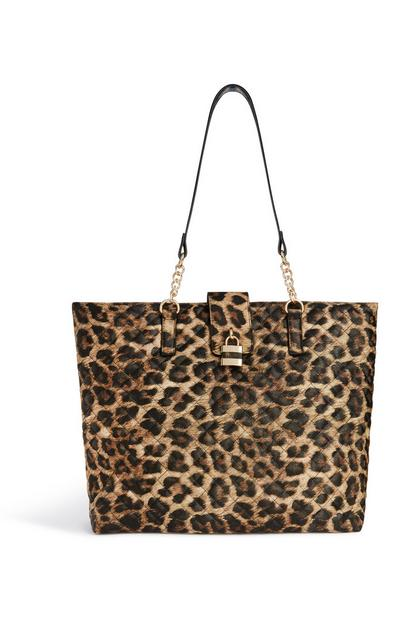 Tragetasche mit Leopardenmuster