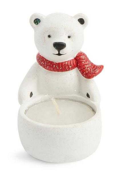 Polar Bear Tealight Holder