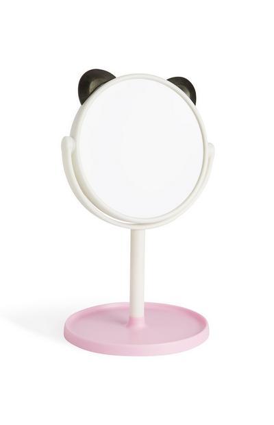 Spiegel mit Pandaohren
