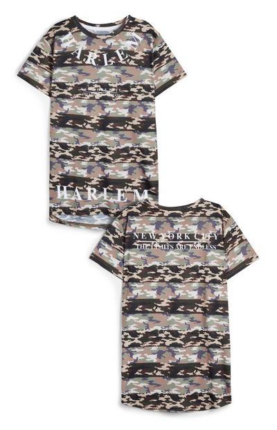 Older BoyCamo Stripe T-Shirt