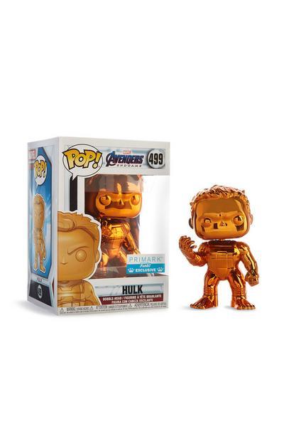 Orange Hulk Bobble Head Vinyl Figure