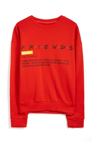 Red Friends Jumper