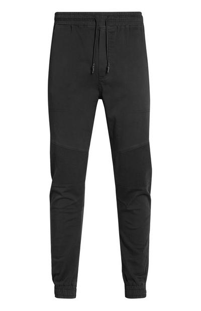 Charcoal Biker Cargo Trousers