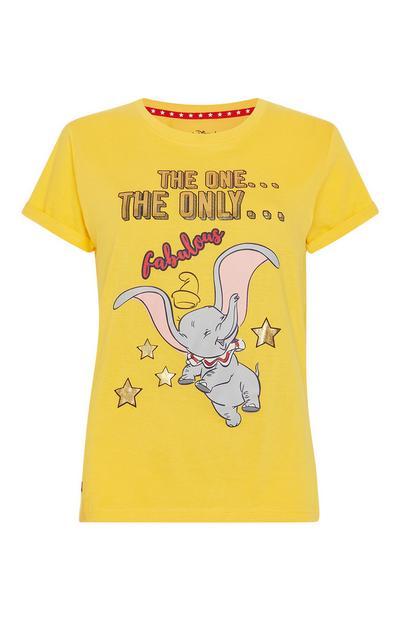 """Gelbes """"Dumbo"""" T-Shirt"""