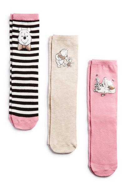 Winnie The Pooh Socks 3Pk