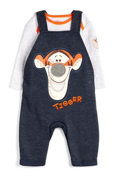 Baby Boy Tigger Dungaree Set