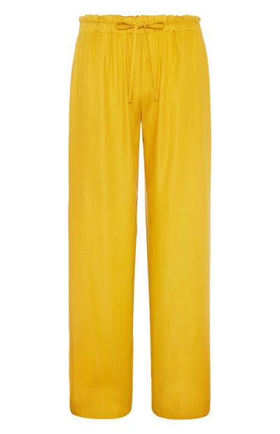 Mustard Pyjama Trouser