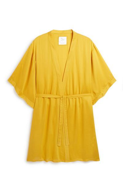 -Mustard Robe