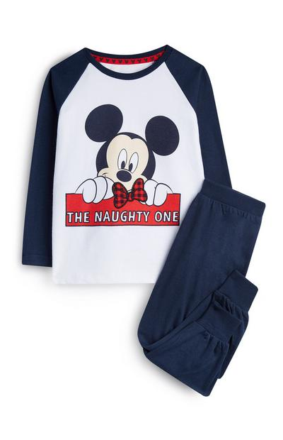 Younger Boy Mickey Mouse Pyjamas