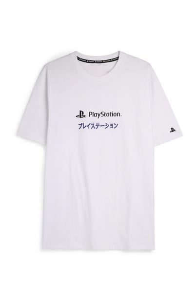White Playstation T-Shirt