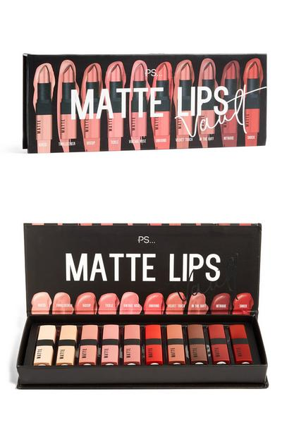 Matte Lips Vault 10Pk