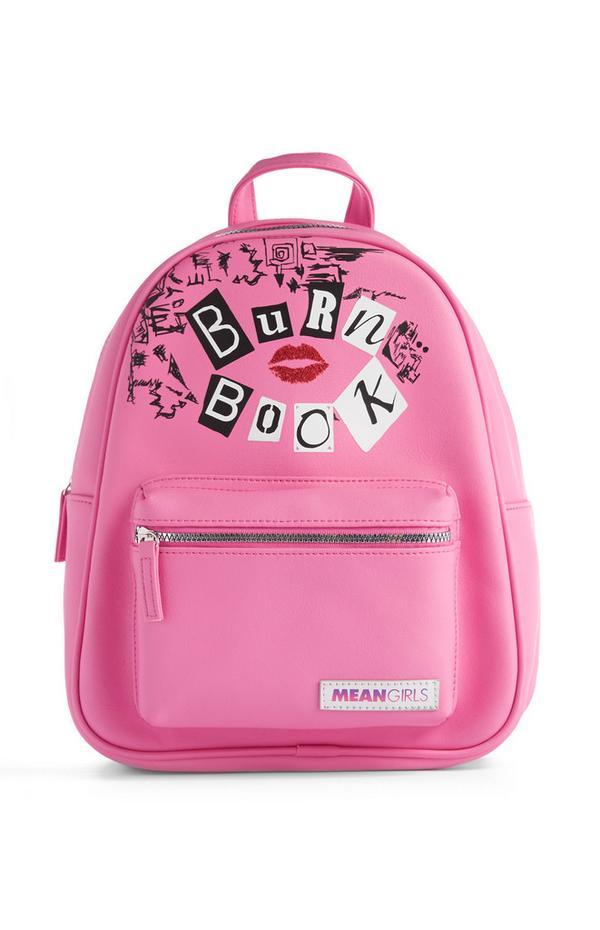 Pink Burn Book Backpack