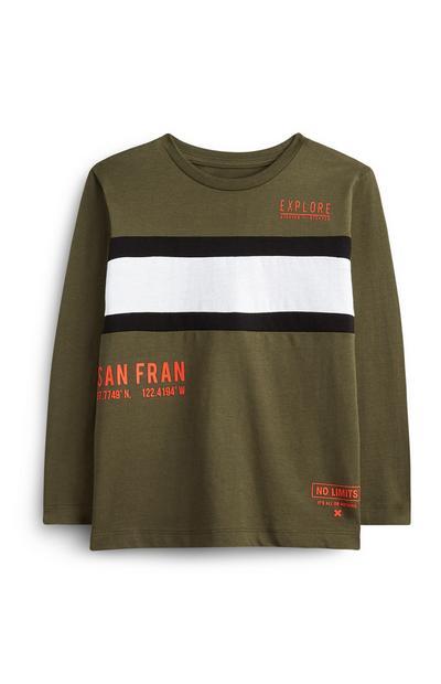 Younger Boy Khaki San Fran T-Shirt