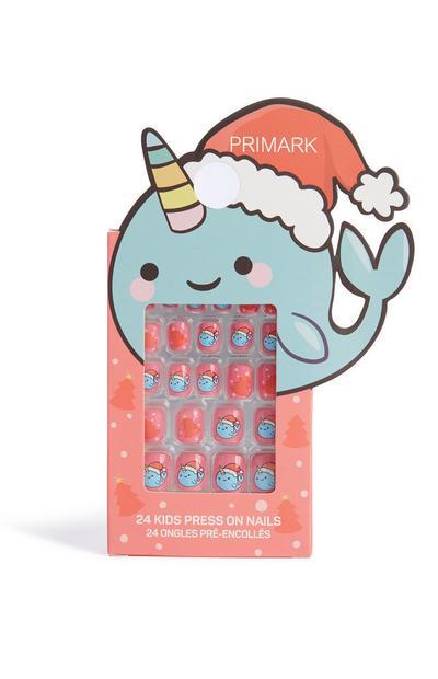 Christmas Press On Nails