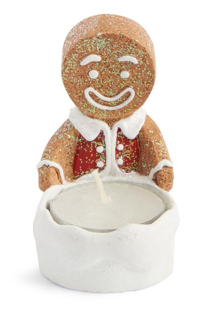 Gingerbread Man Tealight Holder