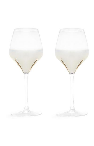 Ombre Wine Glass 2Pk