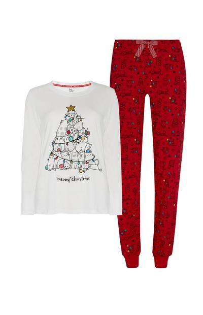 Cat Christmas Pyjamas