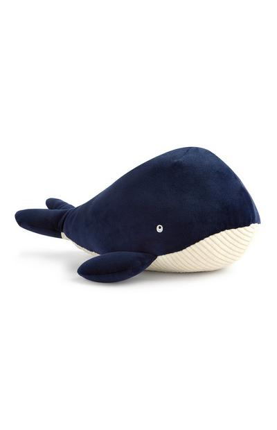 Navy Whale Teddy