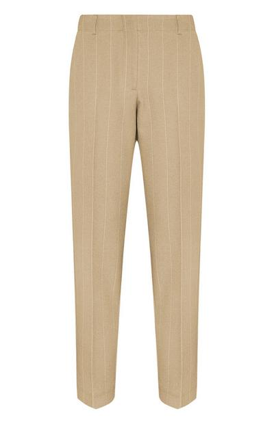 Sandy Stripe Tailored Trousers