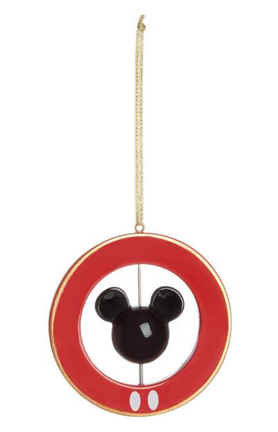 Red Mickey Mouse Spinner Christmas Tree Decoration